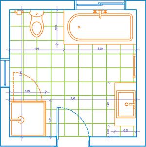 Small Bathroom Design 2M X 2M bathroom floor plan 2m x 3m. bathroom. house plans with pictures